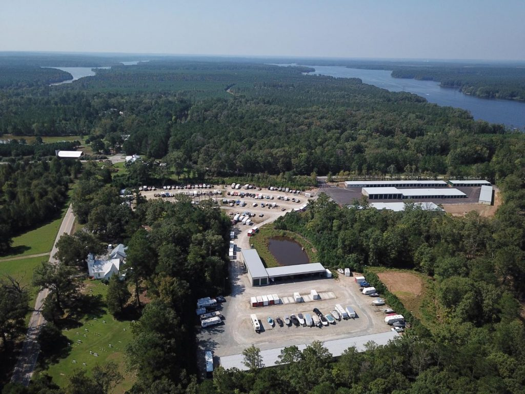 boat storage in NC